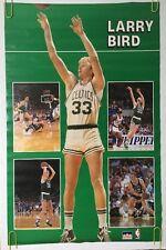 Larry Bird Vintage Poster Boston Celtics Converse Sneakers NBA Basketball Pin-up