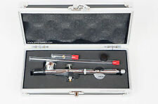 Badger Renegade Krome Jet Double Action Airbrush in case 0.21+0.33mm nozzle set