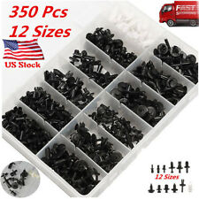 350pcs Auto Car Push Retainer Pin Rivet Trim Clip Panel Moulding Assortments Kit