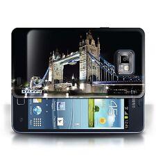 Stuff4 Hülle/Case für Samsung Galaxy S2/SII/Tower Bridge/London England