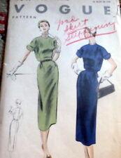 RARE VTG 1950s DRESS VOGUE Sewing Pattern 14/32