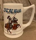 Vintage Excalibur Hotel & Casino Las Vegas Nevada Beer Mug Stein