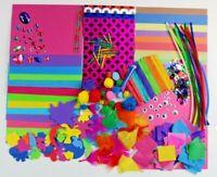 MAXI Childrens ART & CRAFT Set Kids Creative Crafting Supplies Activity Pack