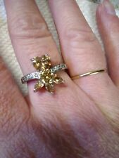 With Accents Yellow Stone Ring
