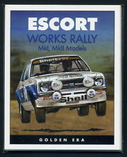 FORD ESCORT MK1 & MK2 (WORKS RALLY CARS)  Collectors Cards - RAC Welsh World Cup