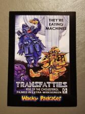 Transfatties Red Ludlow 05/25 2018 Topps Wacky Packages Go to the Movies