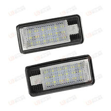 Audi A6 C6 - LED Number Plate Unit - Bright Xenon SMD Canbus Bulb Unit