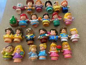 little people fisher price lot 25 toy story woody,princess, belle, Ariel Etc