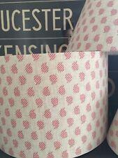 HANDMADE LAMPSHADE IN SUSIE WATSON 'NINA' ROSE LINEN FABRIC