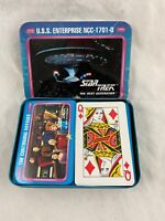 Vintage - Star Trek - The Next Generation - Playing Cards - Tin Box - 1992