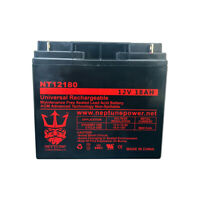 Universal Battery UPG UB12180 12V 18AH  Replacement Battery By Neptune
