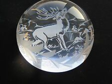 Edinburgh Crystal Classical Collection Paperweight