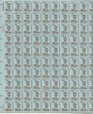 1978 28 cent Americana Issue full Sheet of 100 Scott #1604 Mint Nh,