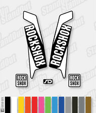 RockShox SID 2015 / 2016 Style Decals Stickers - 2 Colour Designer Pack
