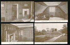 Shropshire BOSCOBEL House x4 c1920/30s? PPCs