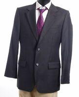 HUGO BOSS Sakko Jacket Gable Gr.50 grau Nadelstreifen 2-Knopf Super 120's -S471