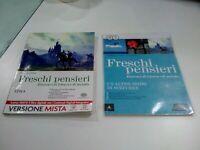 LIBRO Freschi pensieri Itinerari di lettura e di metodo NARRATIVA 9788828615439