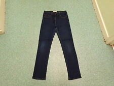 "Papaya Skinny Jeans Size 12 Leg 30"" Faded Dark Blue Ladies Jeans"