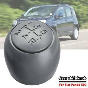 5 Speed Gear Stick Shift Knob Headball For Fiat Panda 03-12 500 500c 07-13