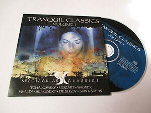 CD Série Spectaculars Classics - tranquil classics volume 1 (pochette cartonnée)