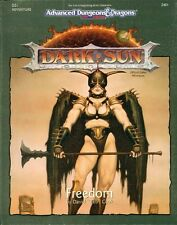 AD&D  FREEDOM avventura TSR 2401 Dark Sun Advanced dungeons & dragons