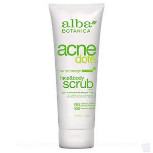 Alba Botanica Acne Dote Face & Body Scrub 227g