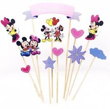 Cake Topper Mickey and Minnie Mouse