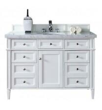 "James Martin 48"" Single Bathroom Vanity in Cottage White Finish, 650-V48-Cwh-3"