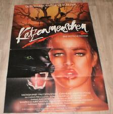 A1 Filmplakat KATZENMENSCHEN,NASTASSIA KINSKI