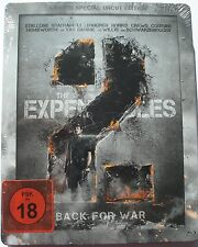 LIMITED SPECIAL UNCUT EDITION - STEELBOOK  __  EXPENDABLES 2  __  BACK FOR WAR