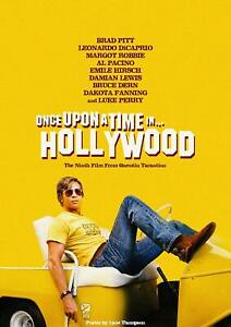 Once Upon a Time in Hollywood 1 Series Movie Poster Canvas Premium Quality