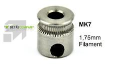 MK7 Extruder Zahnrad Direct Drive Pulley 1.75mm Filament CNC RepRap 3D Drucker