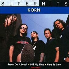 Super Hits by Korn (CD, Feb-2009) Free Shipping!