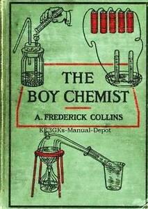 The Boy Chemist * 1924 * CDROM * PDF * Chemistry