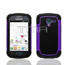 Fits Samsung Galaxy Ace 2 II-E T599 Case Rugged Impact Shockproof Cover - Purple