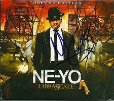 Ne-Yo signed Libra Scale cd