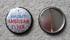 American Flyer Collector Reflector Button W/Clasp Mint
