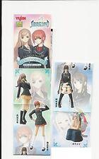SR Shining Wind school uniform Part 2 figure gashapon set Yujin