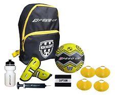 7 pezzi Da calcio Set Kit per Ragazzi Il Calcio,Borsa,Borraccia Sportiva,