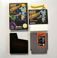 [ NES ] Rap Gravity PAL A UKV Usato Nintendo Scatolato con Manuale Senza Fumetto
