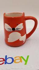 "Tag Coffee Tea Mug Orange Fox 3D 14 oz Ceramic 4"" Foxy Lady"