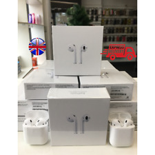 AIRPODS 2ND GENERATION WHITE WITH WIRELESS CHARGING CASE -UK seller