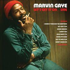 Marvin Gaye Let's Get It On…Live Gatefold 2LP 180g Red Vinyl Record New Sealed