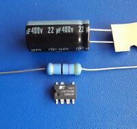 IC LNK304GN +1 Widerstand 47 Ohm + Elko 22µF 400V Steuerplatine Reparaturset