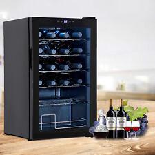 24 Bottles Wine Cooler Cellar Cabinet Holder Chiller Thermoelectric Fridge Cabin