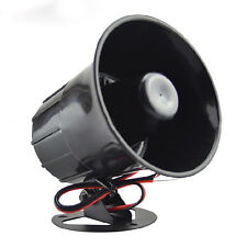 Outdoor DC 12V Wired Loud Alarm Siren Horn For Home Security Protection System