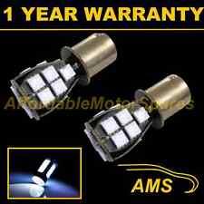 2x 382 1156 Ba15s 207 P21W Xenon Blanco 18 Led Smd Luz Reversa bombillas rl201203