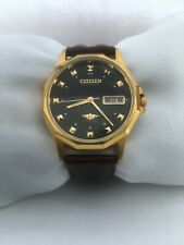 Citizen Men's  Automatic 21Jewels Day/Date Automatic gold plated  strap   Watch