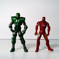 "Marvel Universe 3.75"" Lot of 2 Titanum Man & Ironman Action Figure Hasbro"