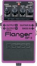 Boss BF-3 Stereo Flanger Guitar and Bass Flange Effect Effects Pedal